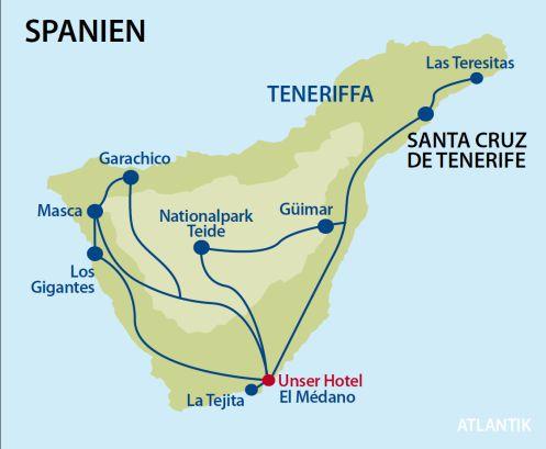 Teneriffa Karte Spanien.Singlereisen Teneriffa Single Urlaub Kanaren Sunwave De